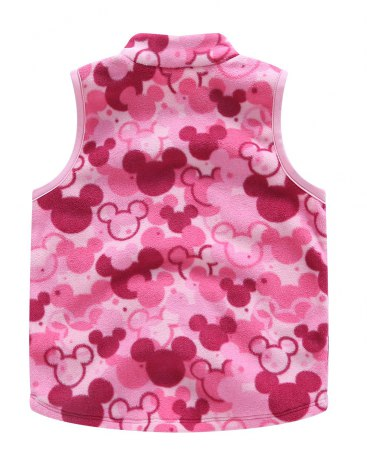 Others6 Polyester One-Piece Sleeveless Zipper Fly Baby's Outerwear