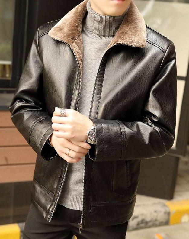 Black Men's Outerwear