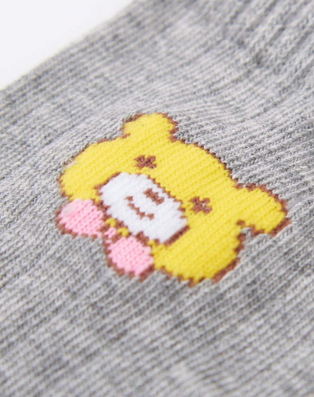Fiber Warm Short Four--Pcs Boys' Socks