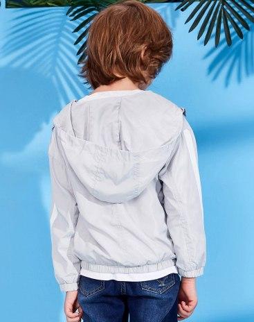 Gray Boys' Outerwear