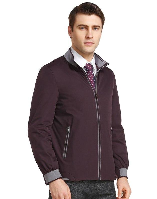 Stand Collar Men's Jacket