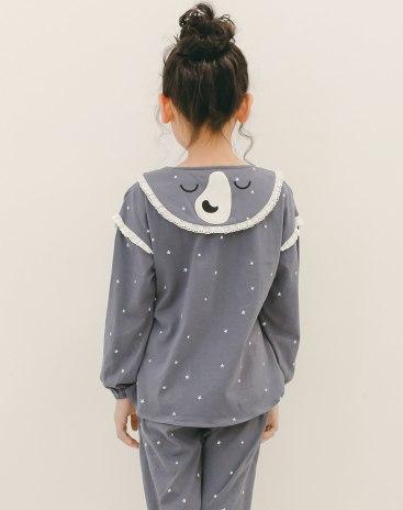 Gray Girls' Loungewear