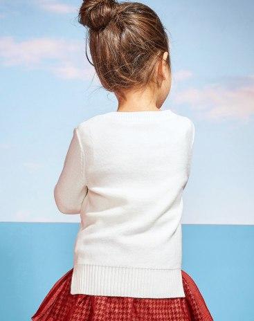 White Girls' Sweater