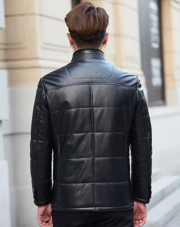 Black Men's Fur & Leather