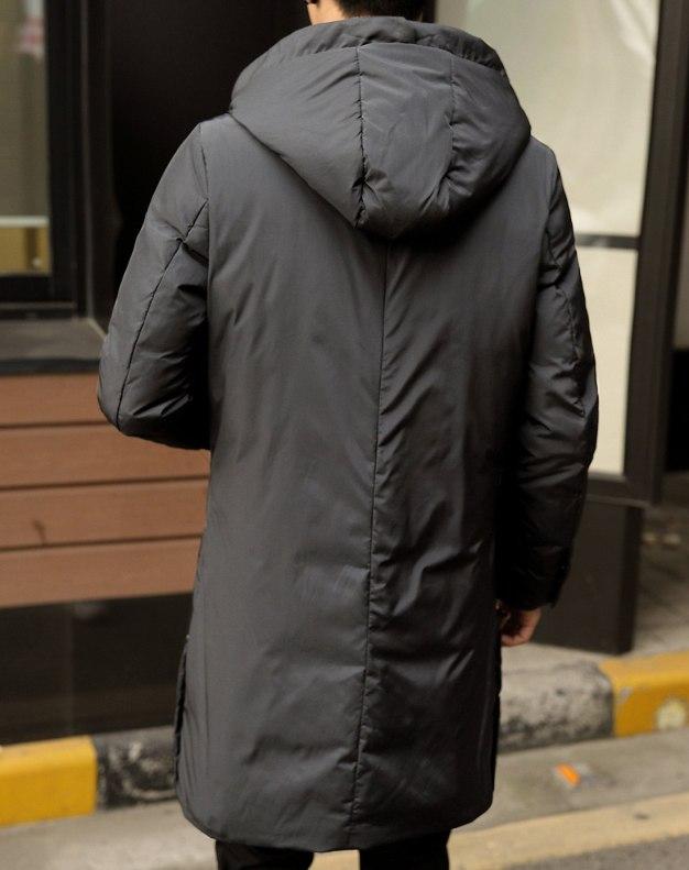 Gray Men's Down Coat
