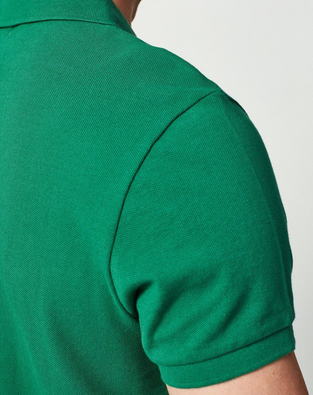Green Men's Polo