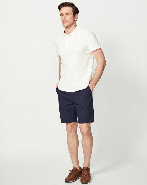 White Men's Polo