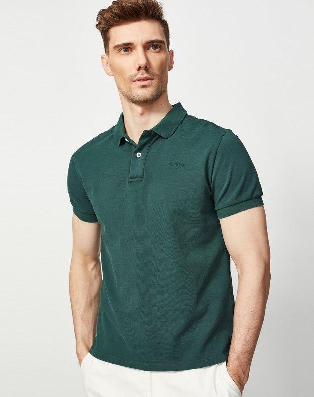 Green Men's Polo