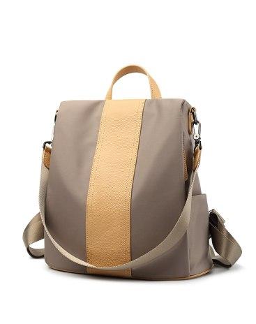 Apricot Big Plain Women's Backpack