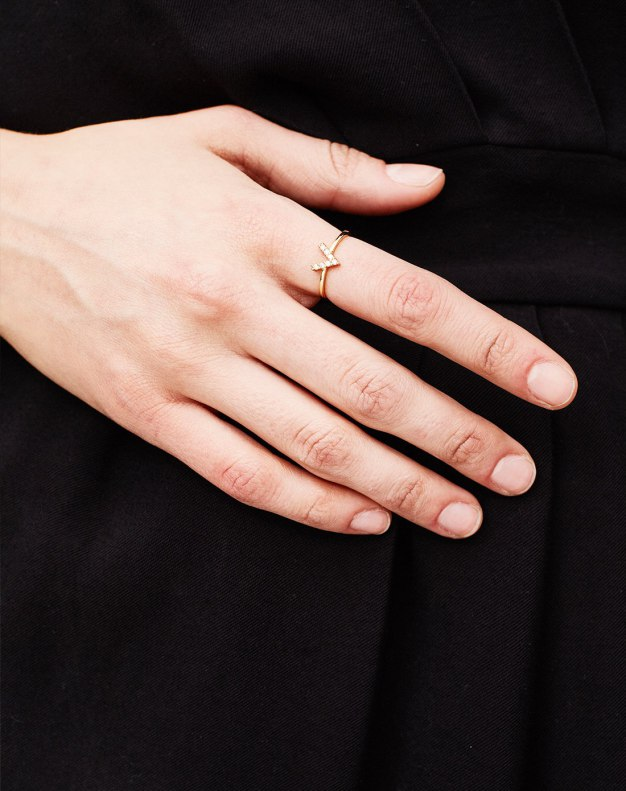 Gold Arrow Ring