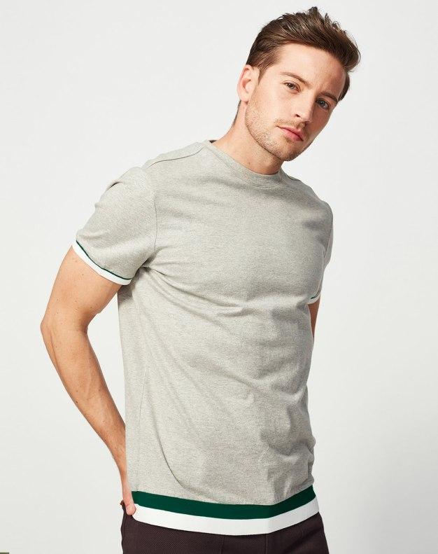 Gray Men's T-Shirt