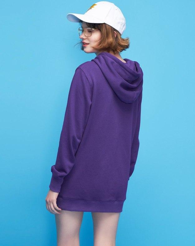 Print Long Sleeve Loose Women's Sweatshirt