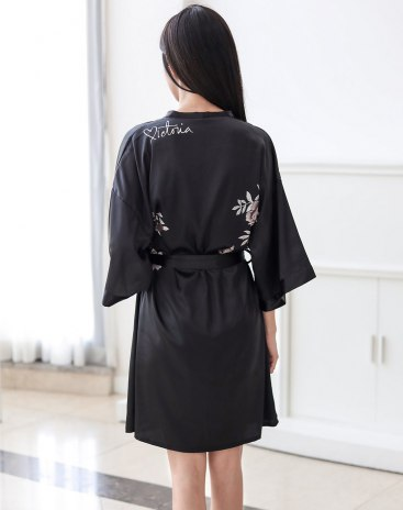 Black Women's Night-Robe