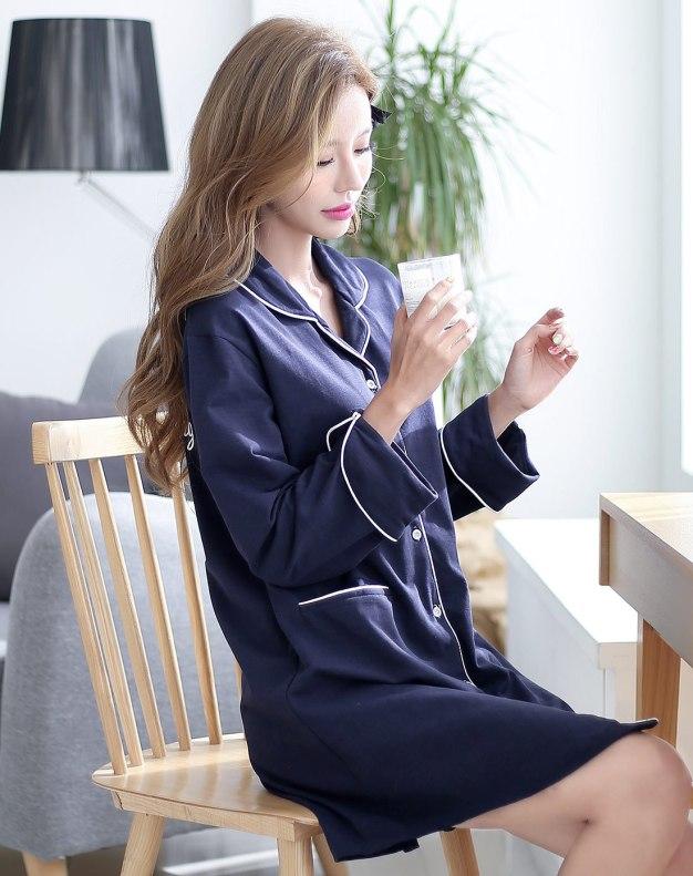 Blue Women's Sleepwear
