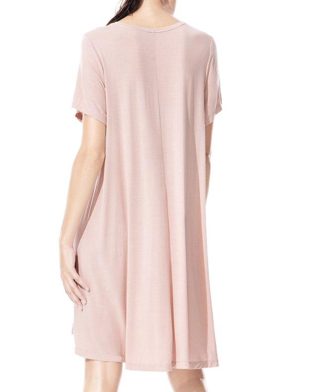 Pink Modal Standard Women's Sleepwear