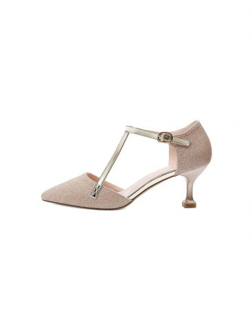 Yellow Pointed High Heel Portable Women's Pumps