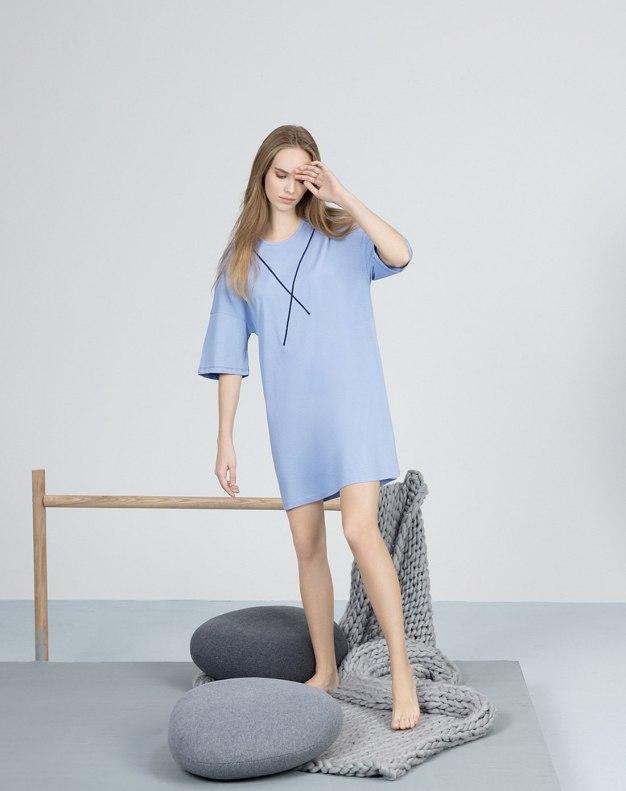 Cotton Half Sleeve Standard Women's Sleepwear