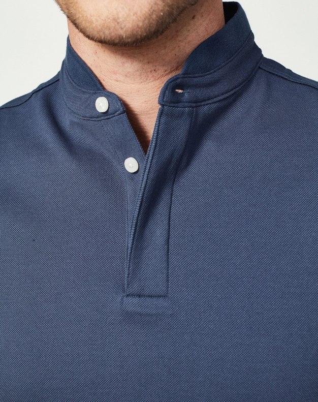 Blue Men's Polo