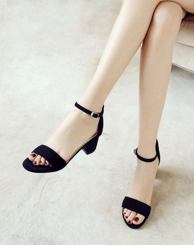 Black Women's Sandals