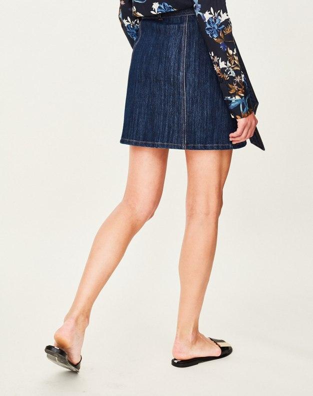 Blue Women's Bodycon Skirt