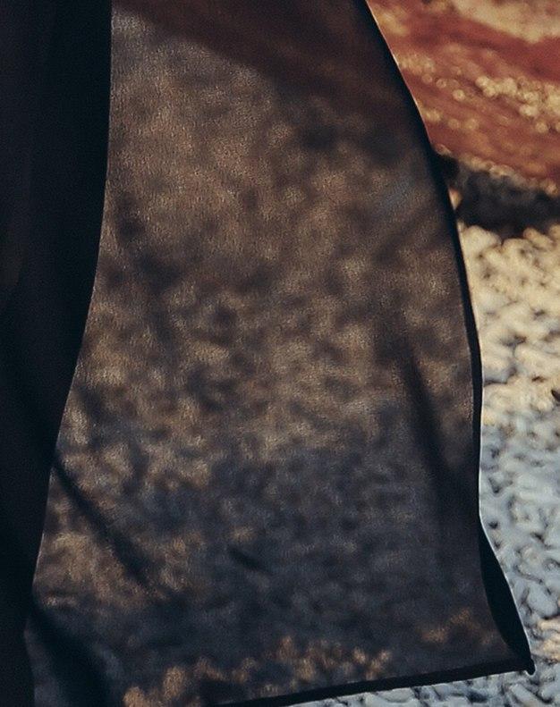 Black Perspective Long Women's Pants