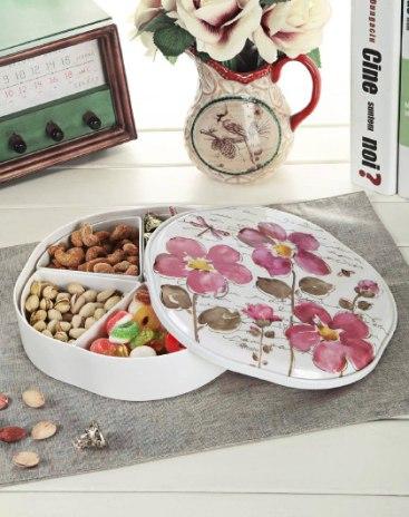 Melamine Dried Fruit Plate Baskets