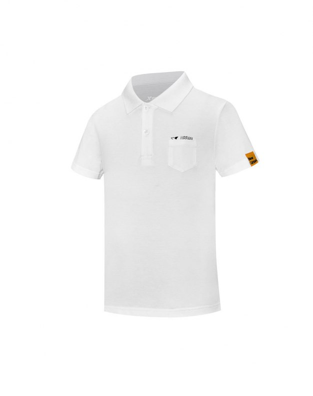 White Standard Boys' Polo
