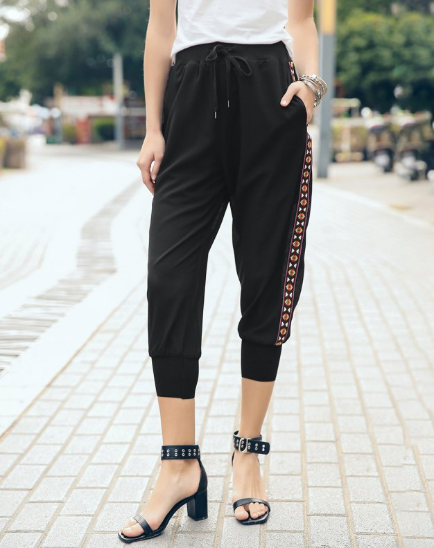 Black Women's Pants