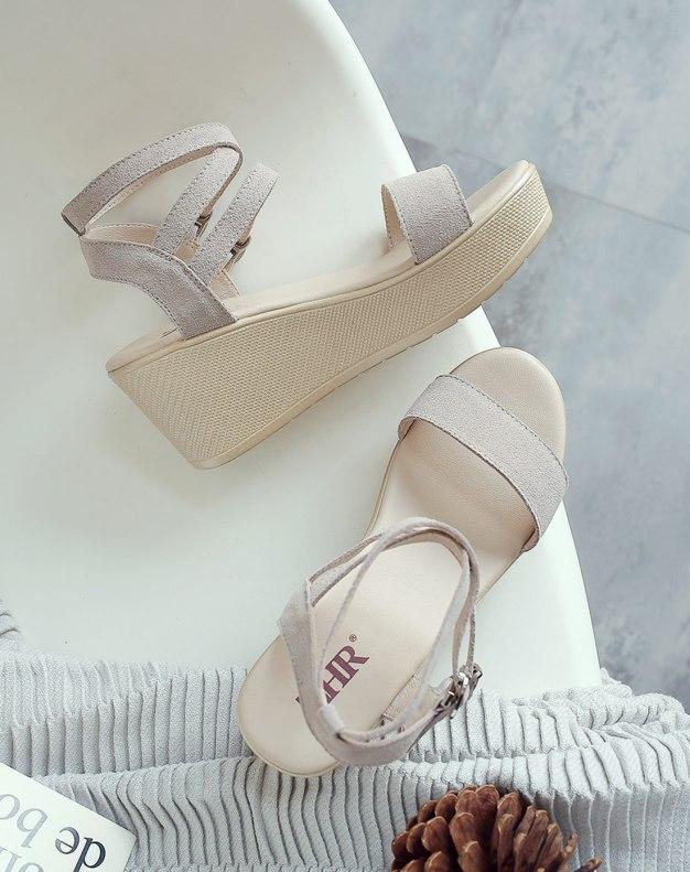Apricot Wedges Women's Sandals