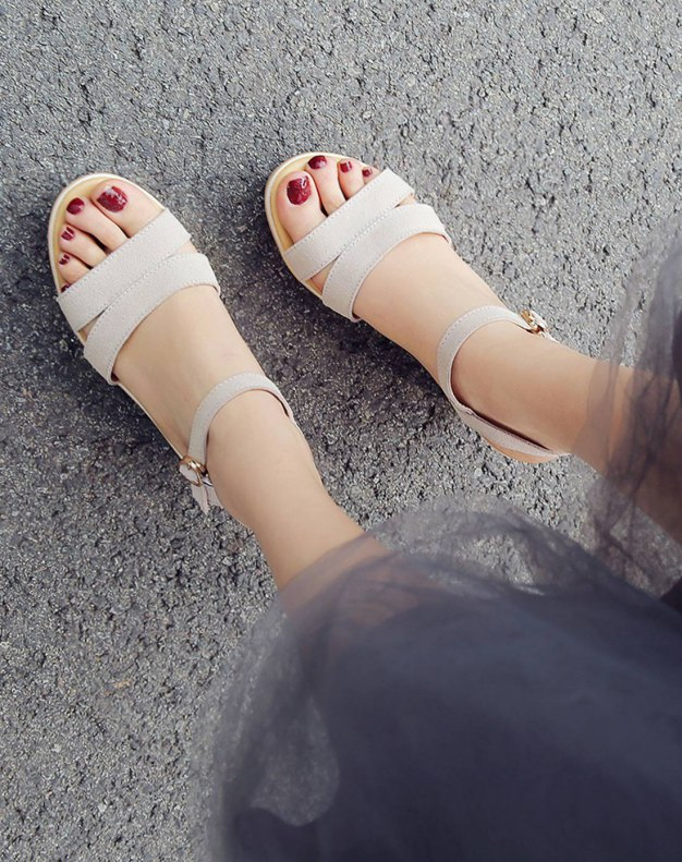 Apricot Wedges Women's Sandals