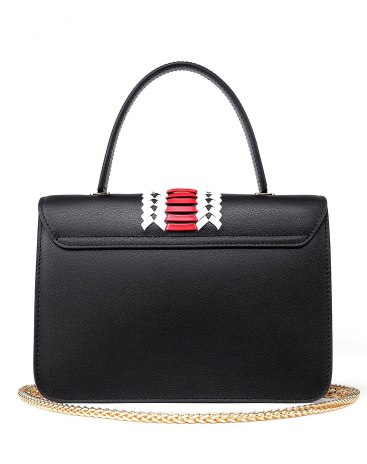 Black Plain Others Kelly Bag Small Women's Totes