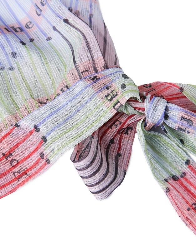Colourful Off Neckline Sleeveless 3/4 Length Women's Dress
