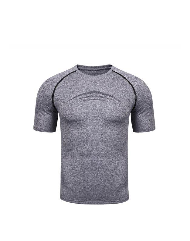 Blue Short Sleeve Men's T-Shirt