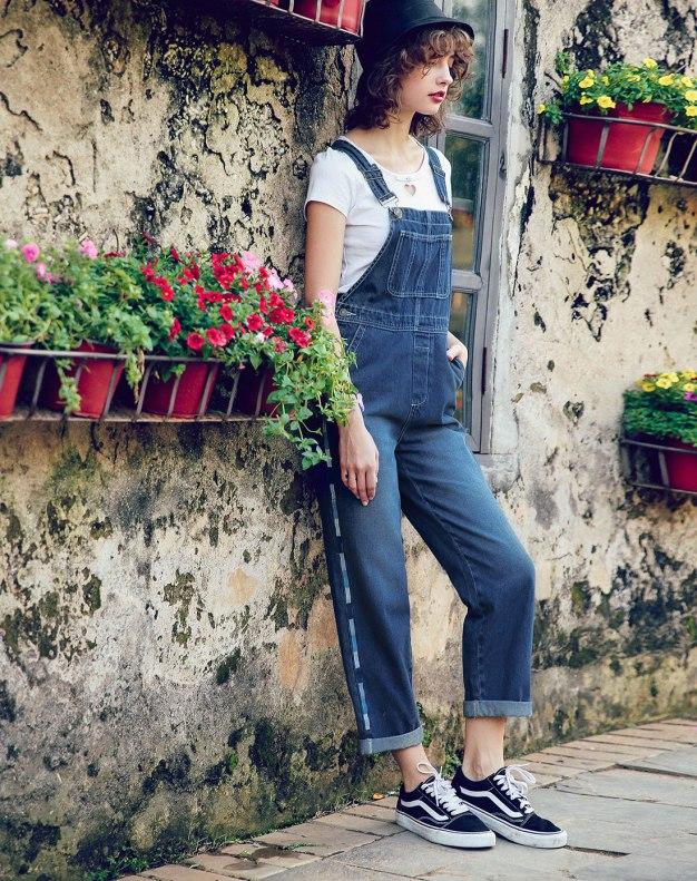 Blue Open Line Women's Jeans