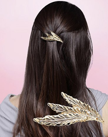 Gold Simple Hair Accessories