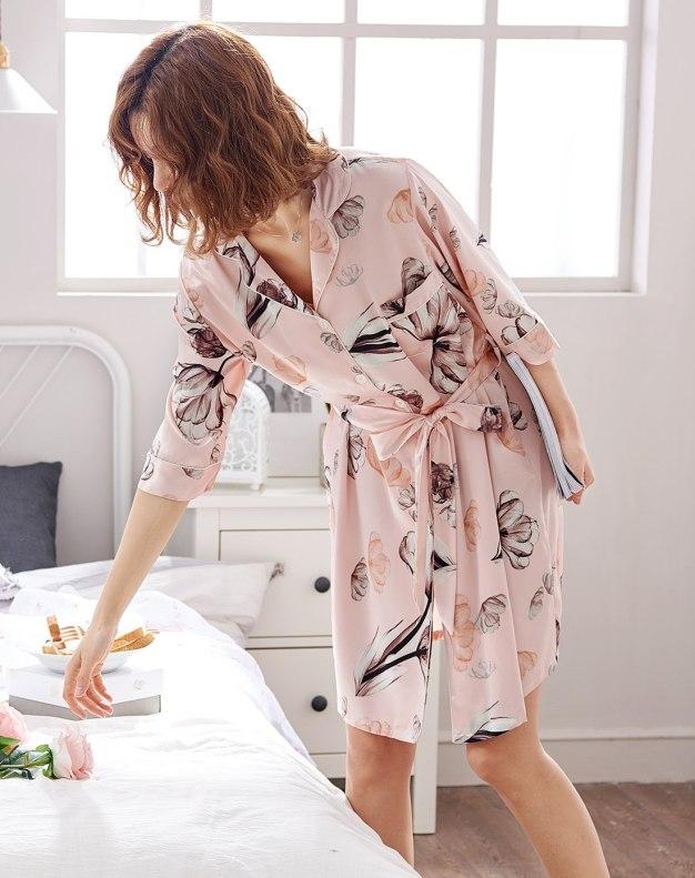 Pink Women's Night-Robe