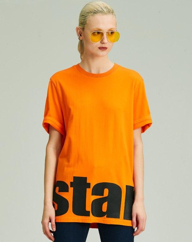 Others1 알파벳 반팔 슬랙스 여성 티셔츠