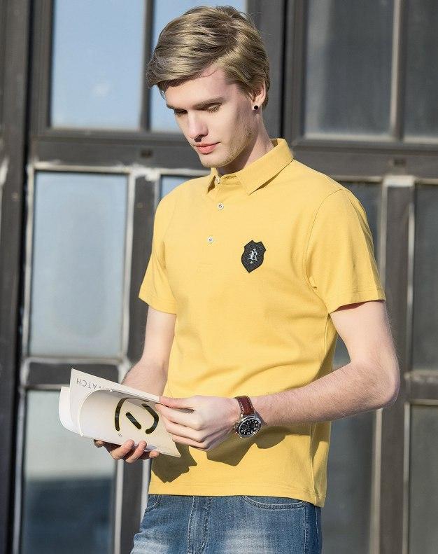Yellow Men's Polo