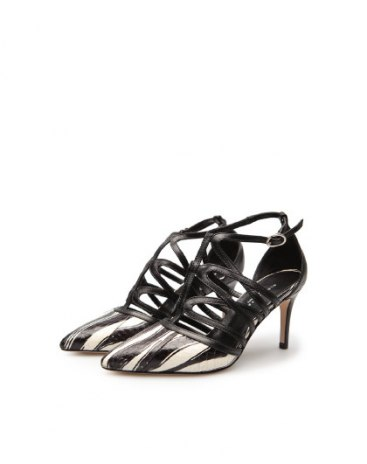 White Pointed High Heel Wear-Resistant Women's Shoes