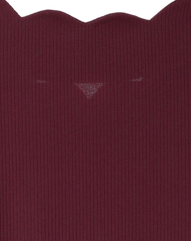 Red V Neck Short Sleeve Standard Women's T-Shirt