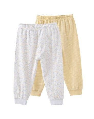 Yellow Two-Pcs Baby's Loungewear
