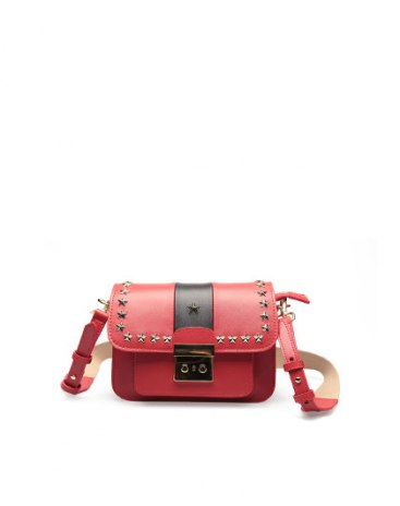 Red Small Women's Shoulder Bag