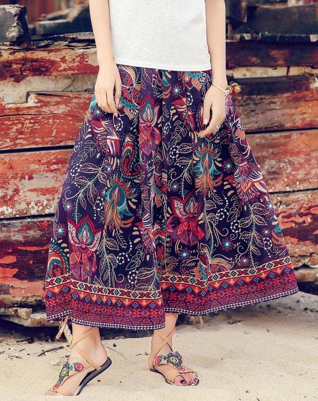 Colourful Women's Skirt