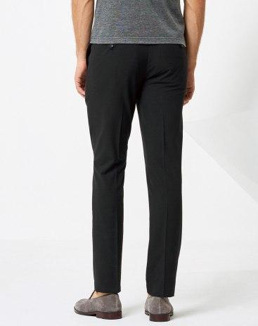 Black Light Elastic    Men's  Trousers