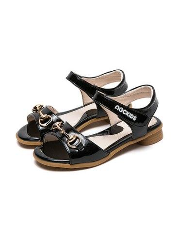 Black Girls' Sandals