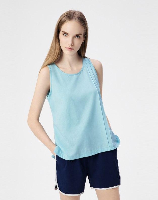 Cotton Sleeveless Standard Women's Loungewear