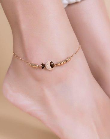 Rose Gold Anklet