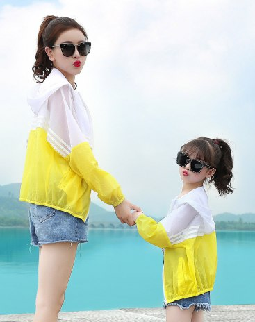 Yellow Girls' Rashguard