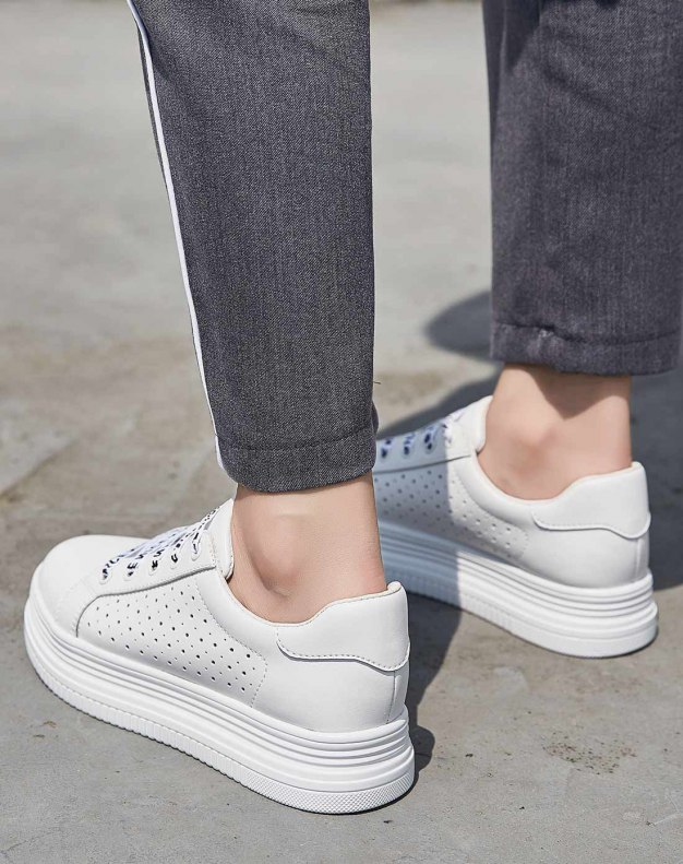 Round Head Flat Women's Casual Shoes