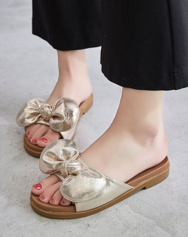 Yellow Flat Women's Sandals